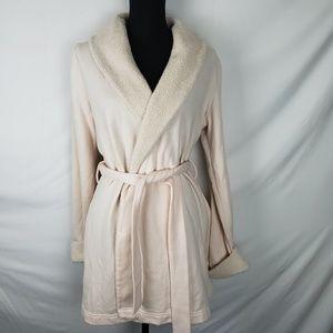 Light Pink Faux Fur Robe by Victoria's Secret